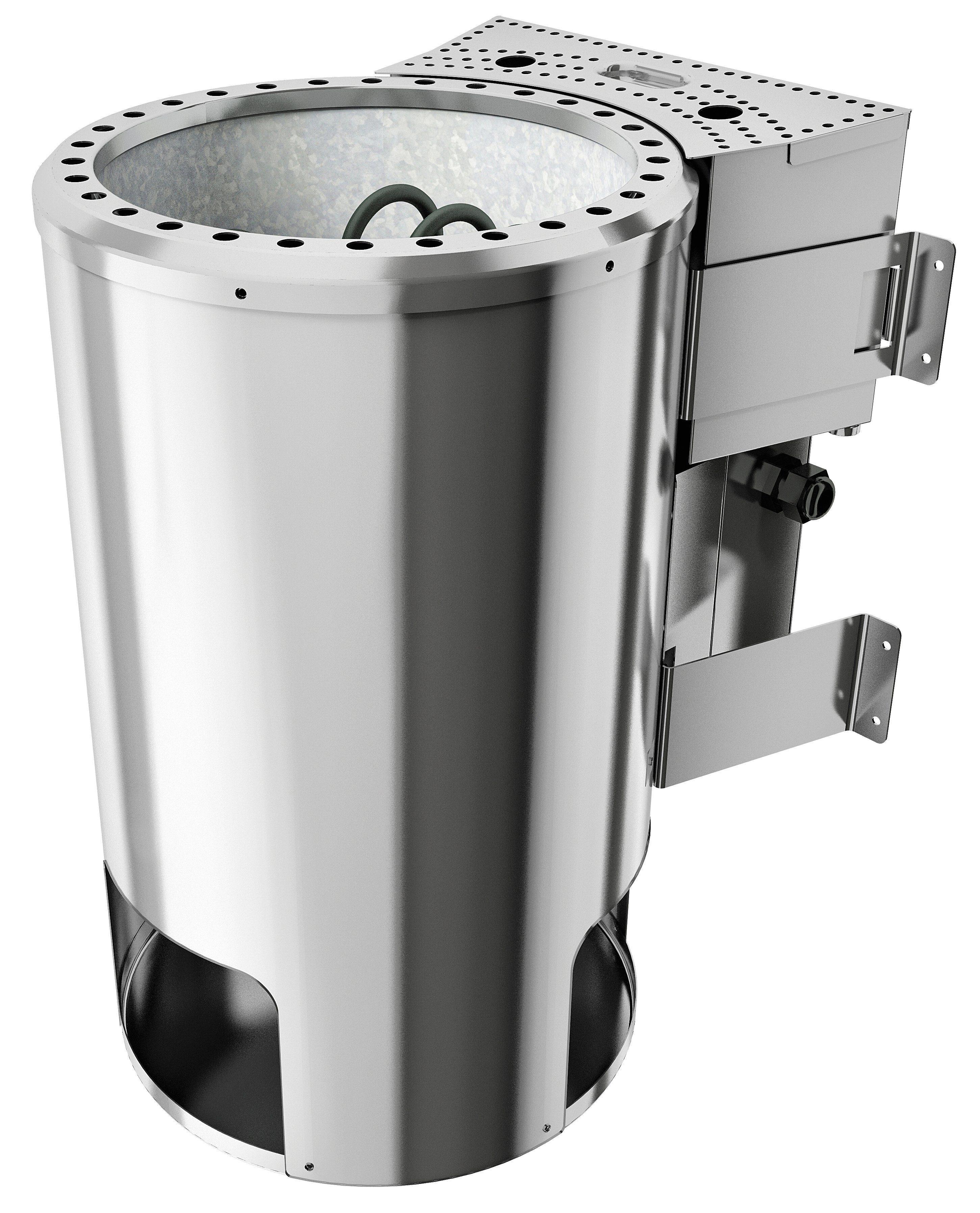 KARIBU Saunaofen »3,6 KW Plug&Play Bio-Kombiofen«, mit ext. Steuerung »Modern«
