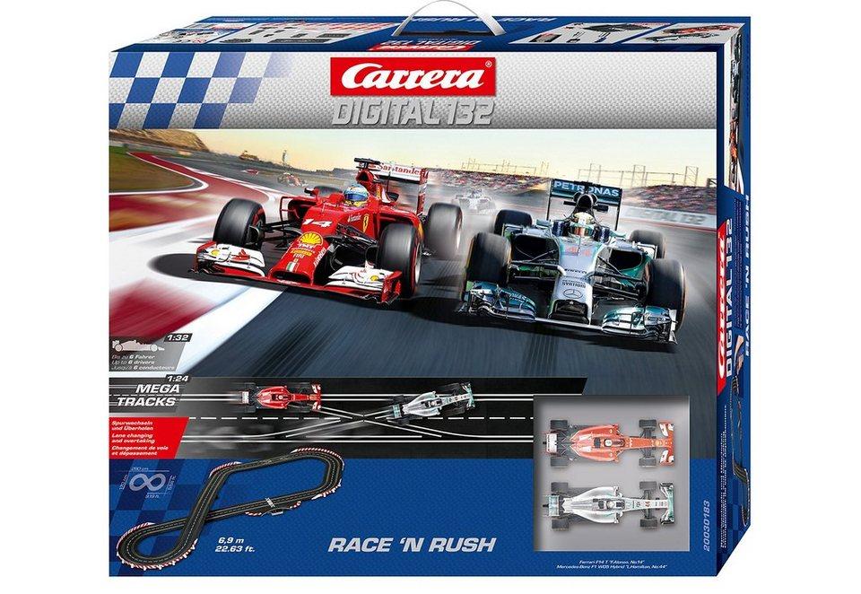 Carrera® Autorennbahn »Carrera®Digital 132 Race 'n Rush«