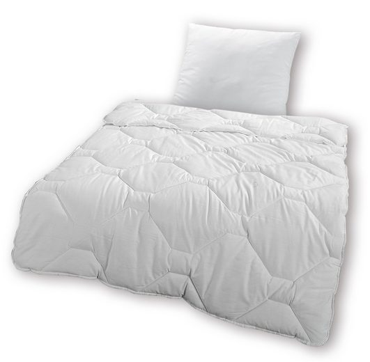 set kunstfaserbettdecke kopfkissen kbt bettwaren lady night normal online kaufen otto. Black Bedroom Furniture Sets. Home Design Ideas