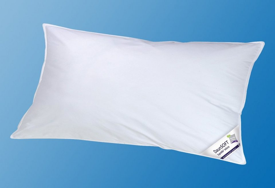 Microfaserkopfkissen, »DaunSOFT«, KBT Bettwaren