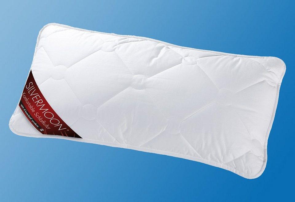 Faserkopfkissen, »Silvermoon Komfort«, KBT Bettwaren