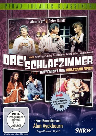 DVD »Drei Schlafzimmer«