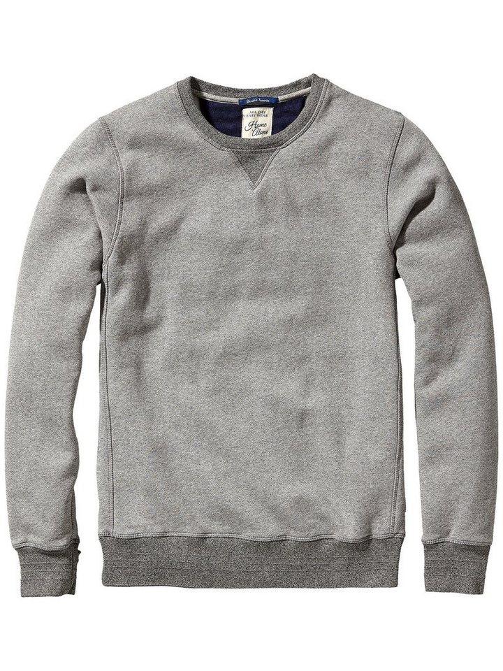 Scotch & Soda Sweatshirt »Home Alone crew neck sweat« in grau