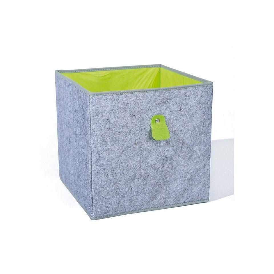 inter link aufbewahrungsbox grau gr n kaufen otto. Black Bedroom Furniture Sets. Home Design Ideas