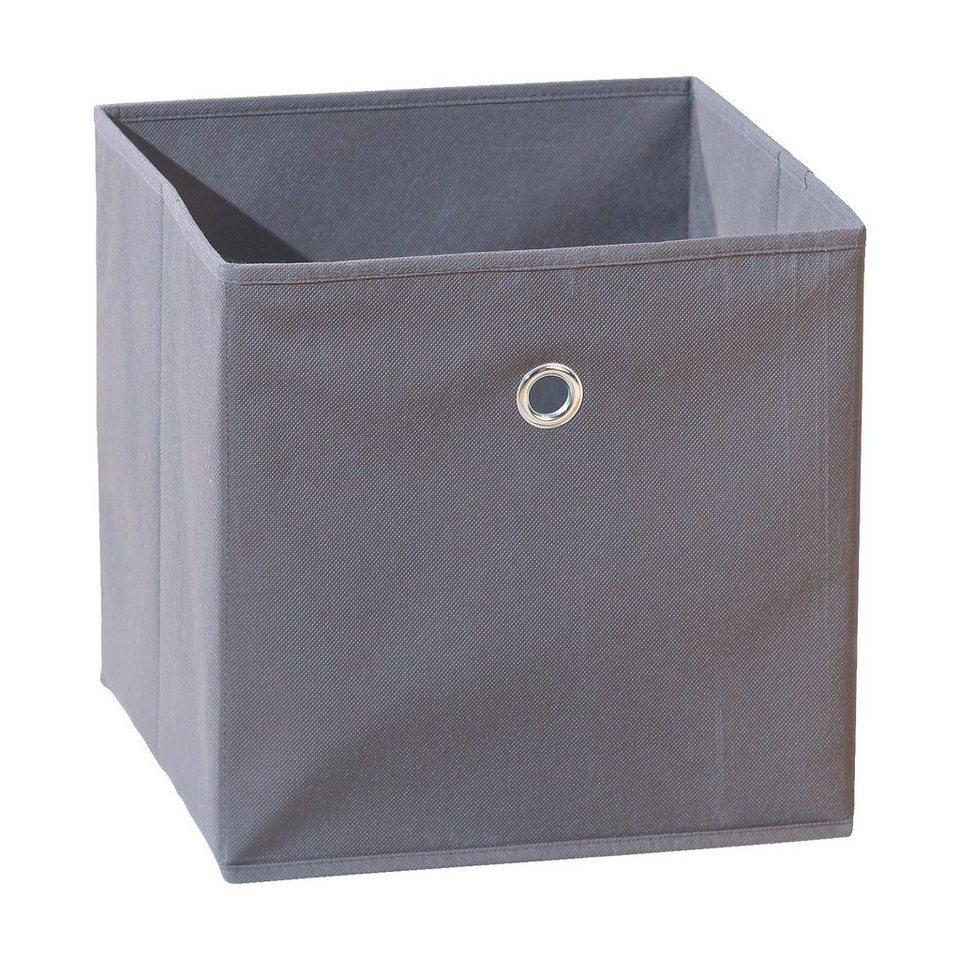 Inter Link Faltbox, grau in grau