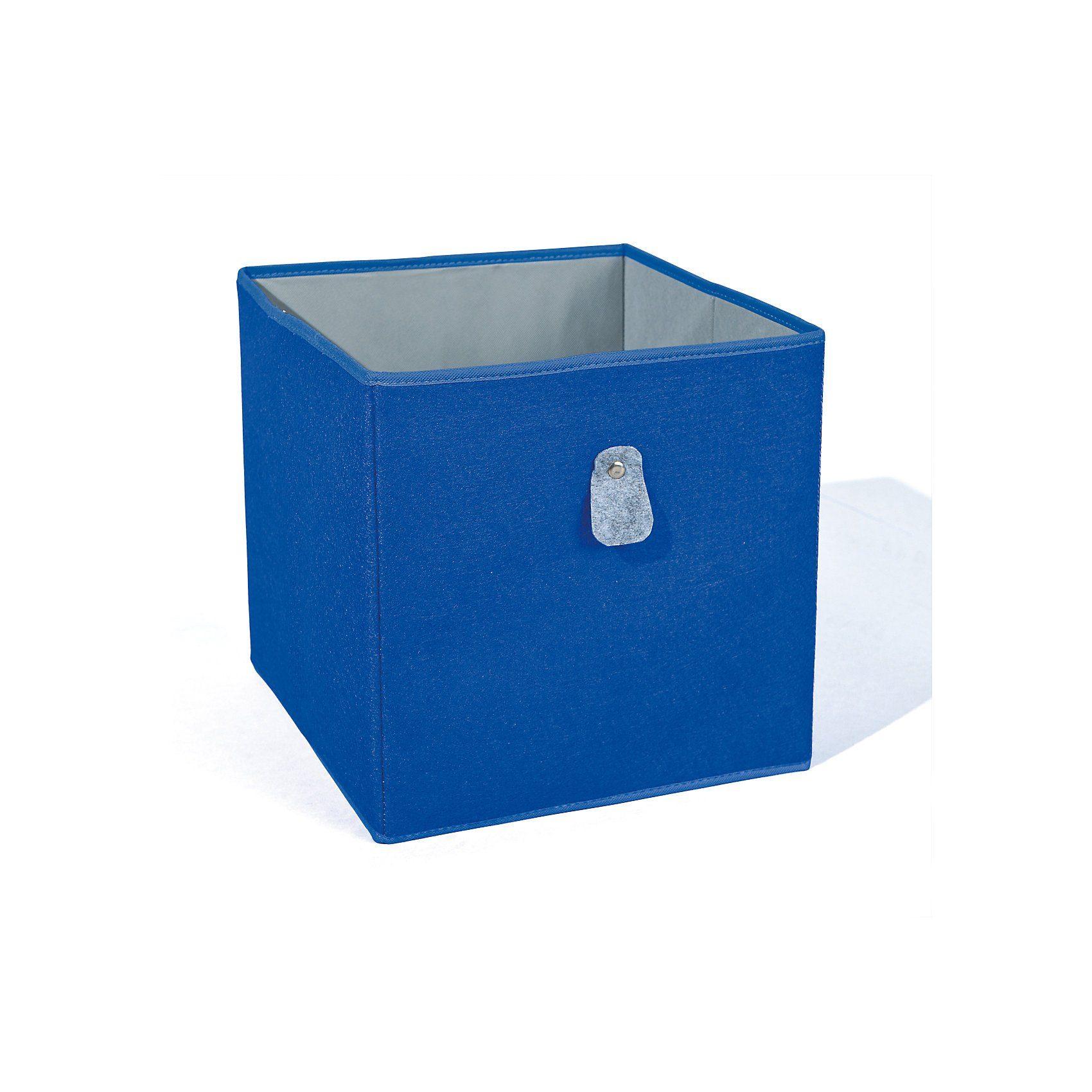 Inter Link Aufbewahrungsbox, blau/grau