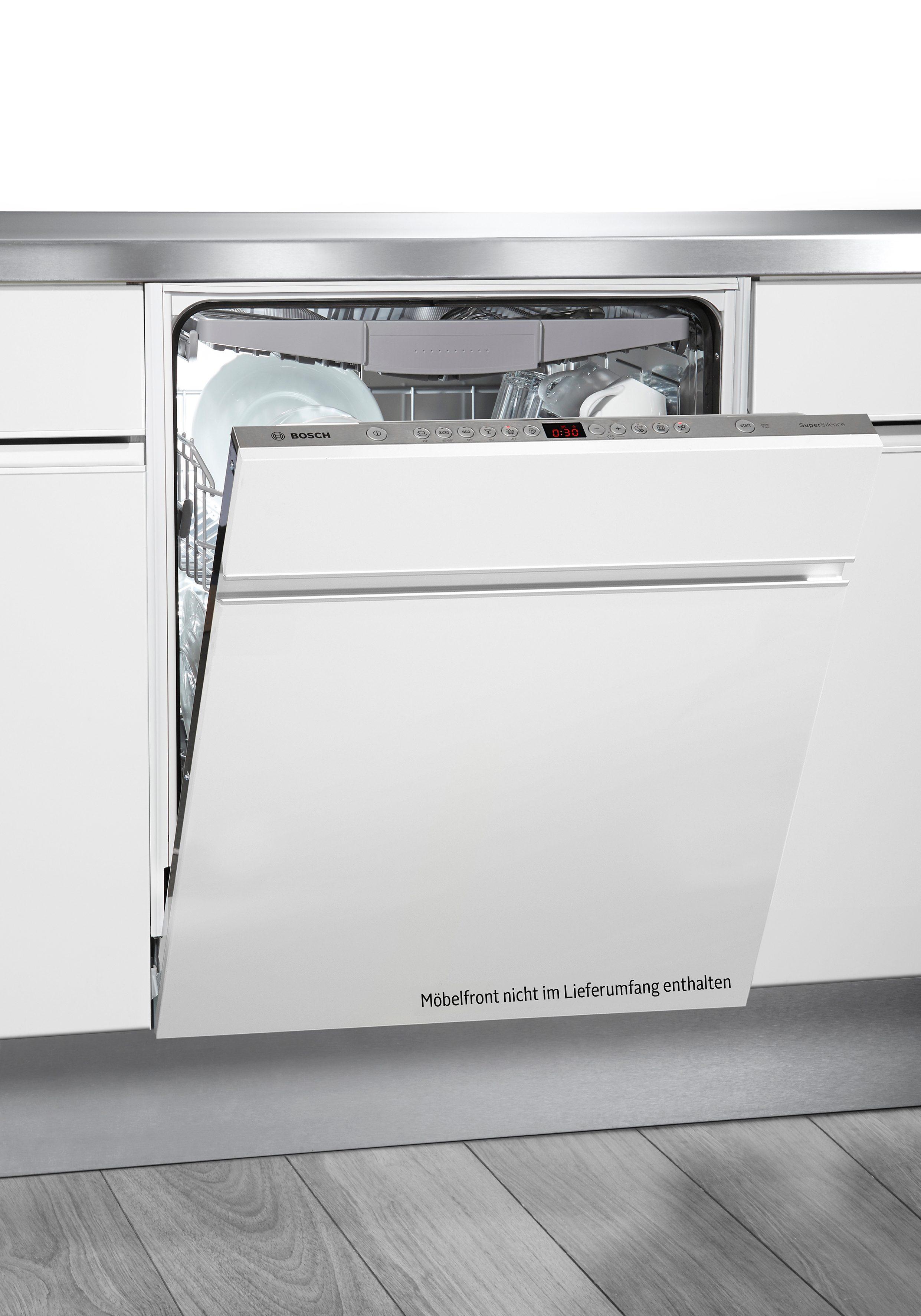 Bosch vollintegrierter Einbaugeschirrspüler XXL SBV68N60EU, A+++, 9,5 Liter, 14 Maßgedecke