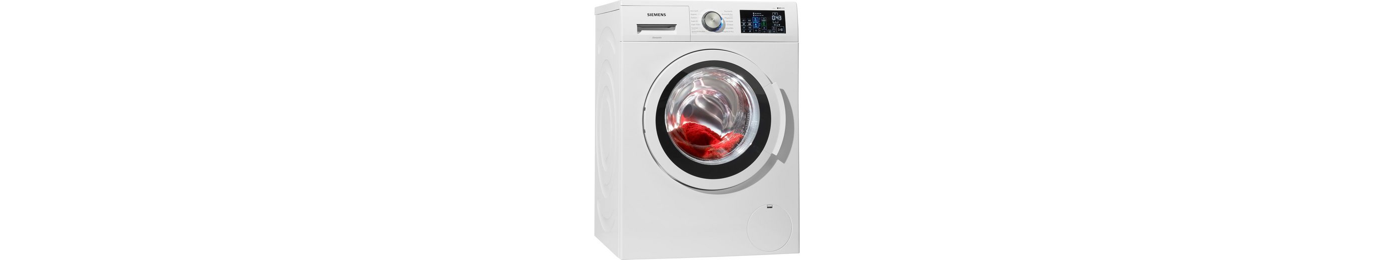 SIEMENS Waschmaschine WM14T640 i-Dos, A+++, 8 kg, 1400 U/Min
