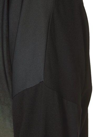Aniston Langarmshirt, mit femininem Frontdruck