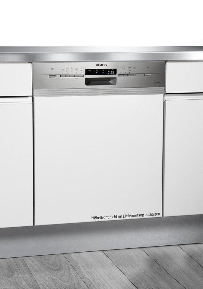 Siemens integrierbarer Einbaugeschirrspüler SN55L536EU, A++, 7,5 Liter, 12 Maßgedecke in Edelstahl