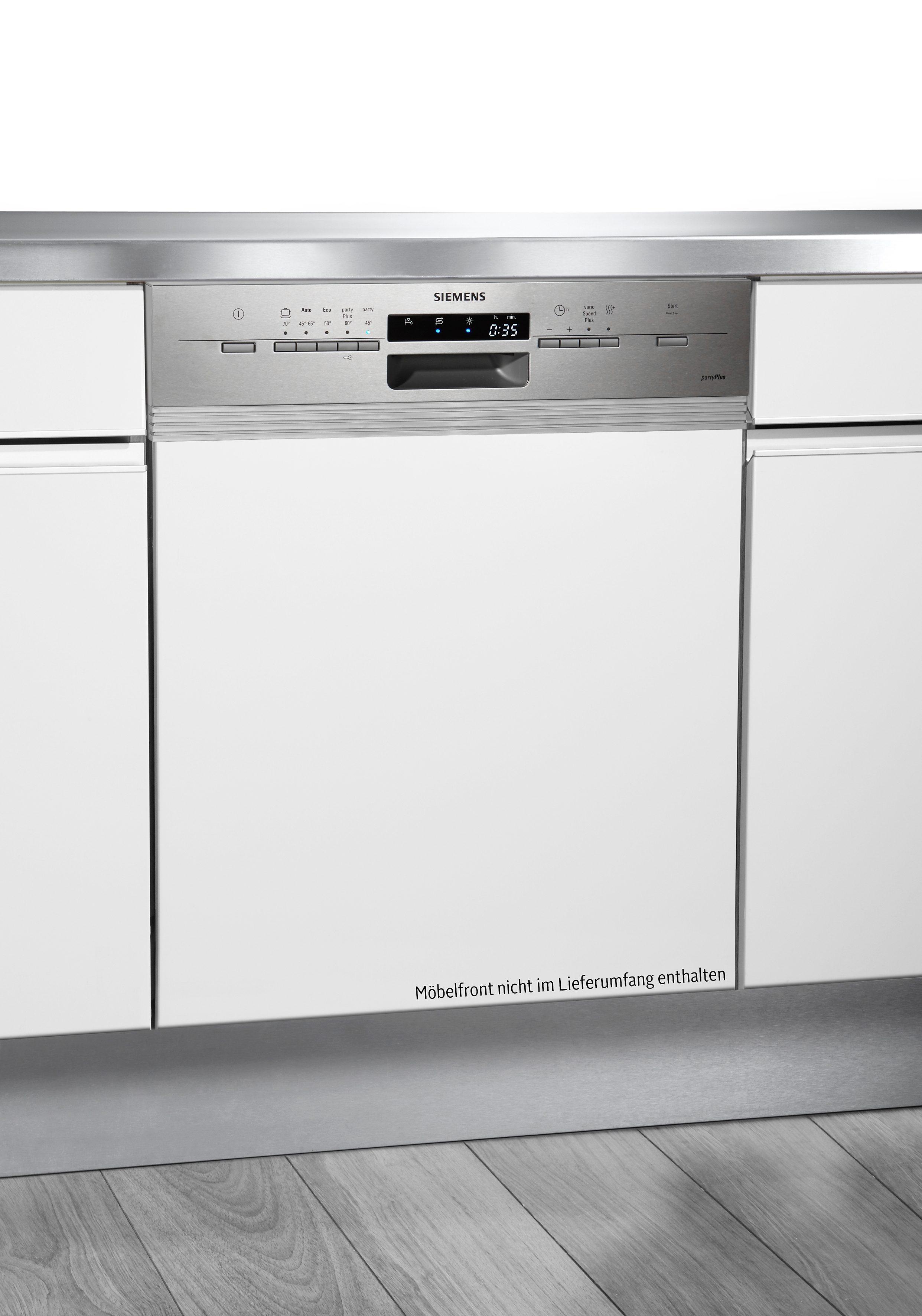 Siemens integrierbarer Einbaugeschirrspüler SN55L536EU, A++, 7,5 Liter, 12 Maßgedecke