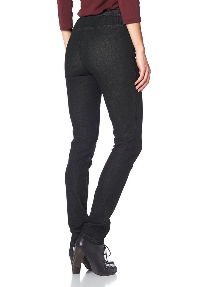 Cheer Jeansjeggings in black