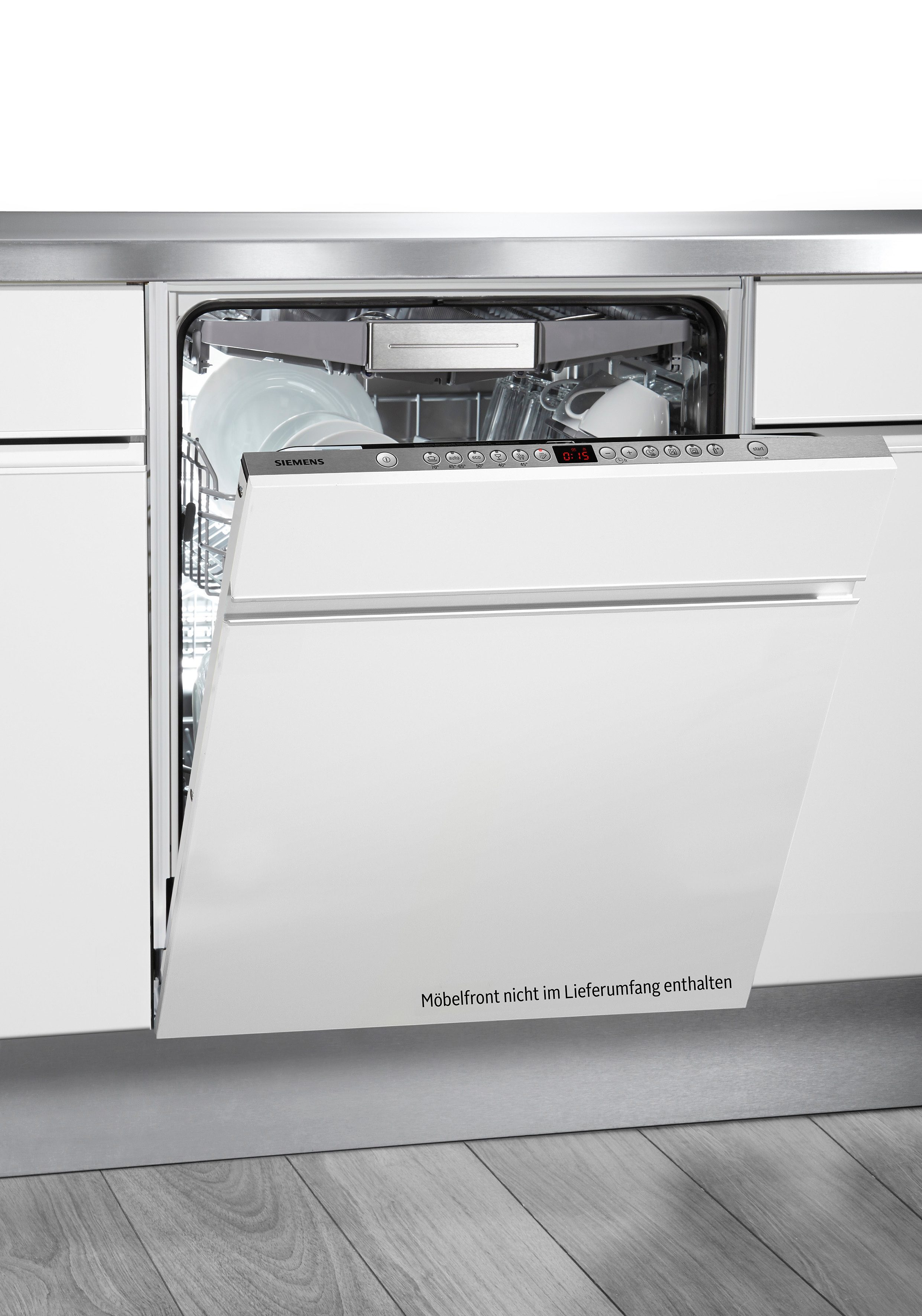 Siemens vollintegrierbarer Einbaugeschirrspüler SN66P093EU, A+, 9,5 Liter, 14 Maßgedecke