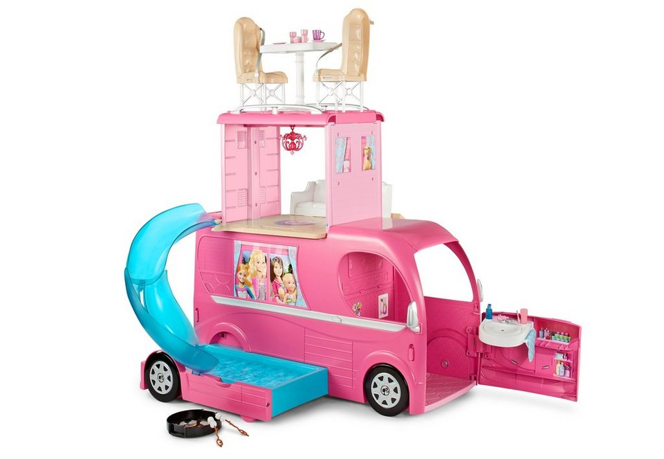 mattel wohnmobil barbie super ferien camper otto. Black Bedroom Furniture Sets. Home Design Ideas