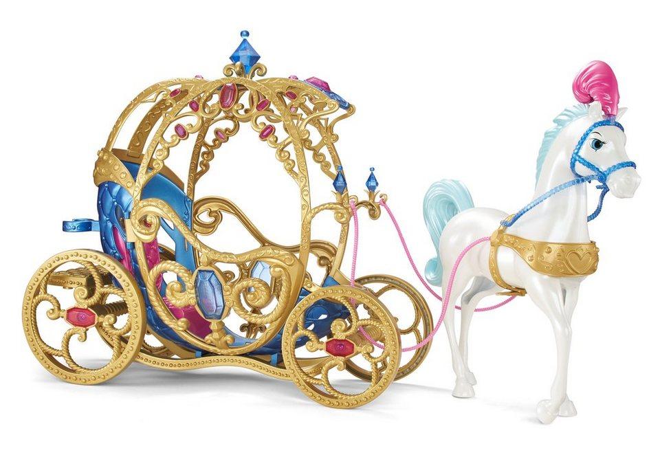 mattel spiel set disney princess cinderella pferd. Black Bedroom Furniture Sets. Home Design Ideas
