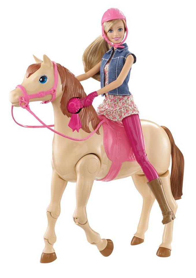 Mattel, Spiel-Set, »Barbie Reitpferd und Barbie Puppe«