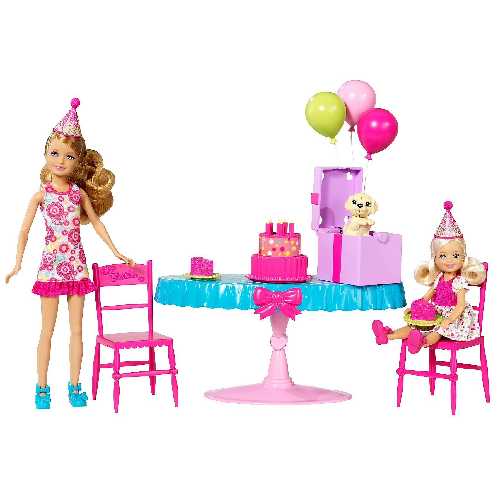 Mattel Barbie Barbies Schwestern Geburtstagsparty