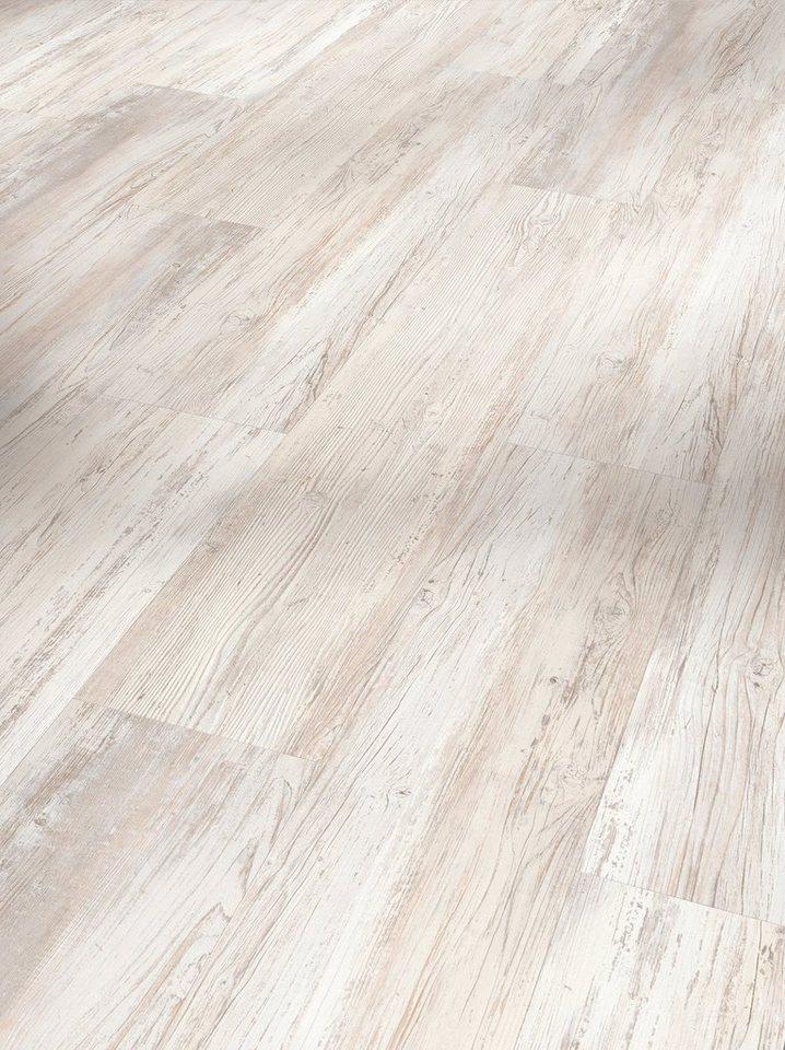 Parador Vinylboden »Basic«, pinie skandinavisch weiß Nachbildung in weiß
