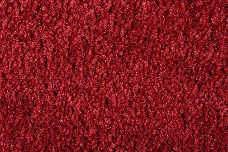 Teppichboden »Emma«, Breite 400 cm in rot