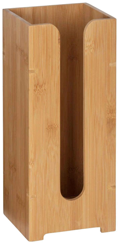 WENKO Toiletten-Ersatzrollenhalter »Bambusa«, aus Bambus