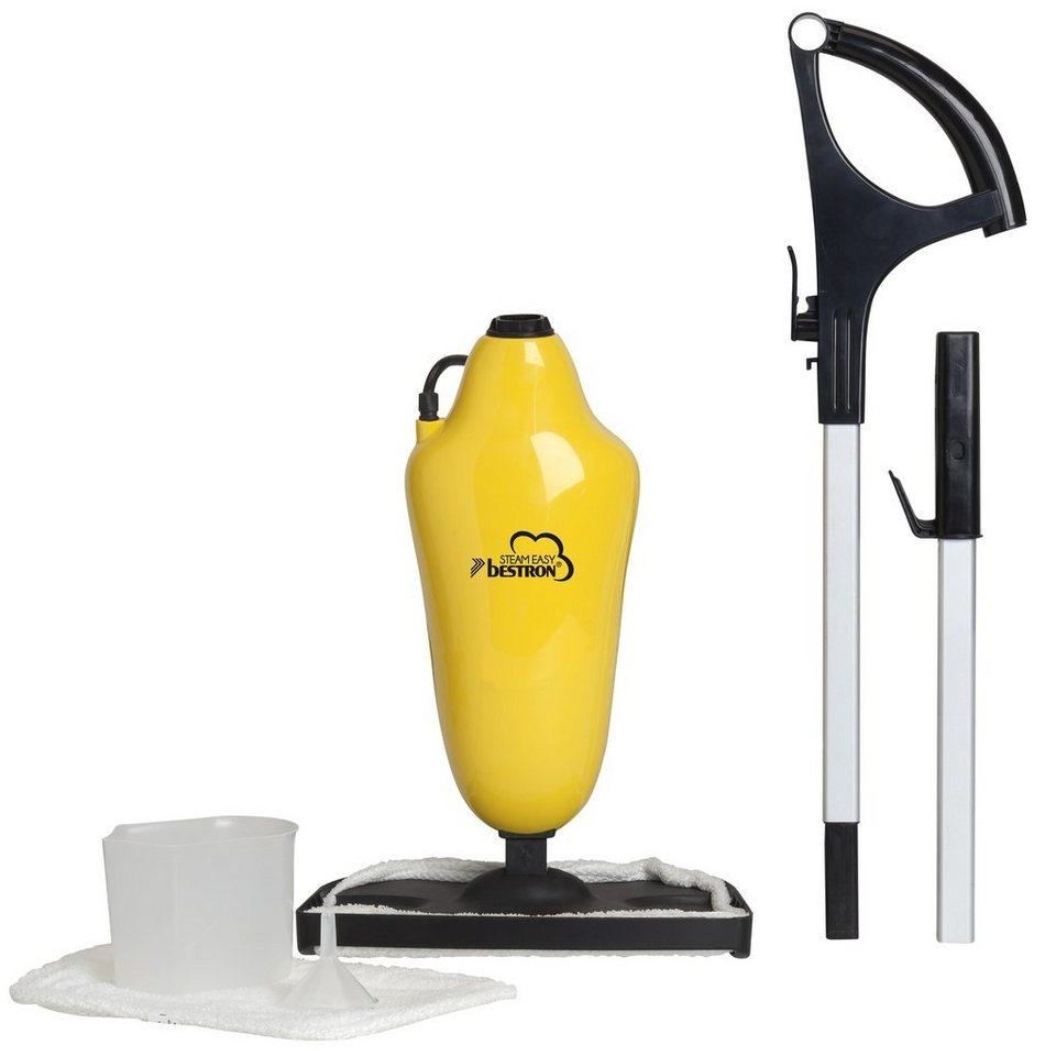 Bestron Dampfreiniger ASS1000, 0,5 Liter in gelb/schwarz