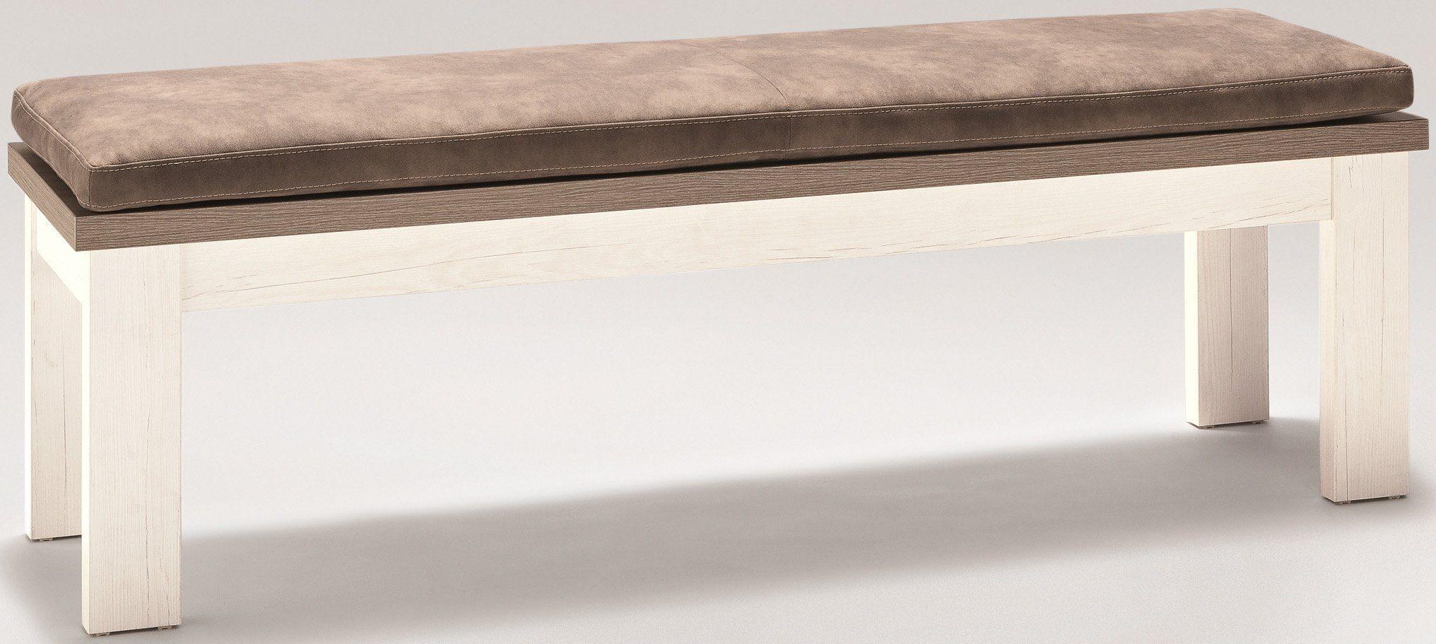 set one by Musterring Sitzbank »york« Typ 61, Pino Aurelio, Breite 160 cm