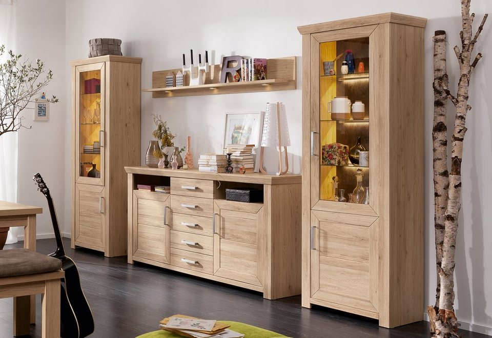 wohnwand york bestseller shop f r m bel und einrichtungen. Black Bedroom Furniture Sets. Home Design Ideas