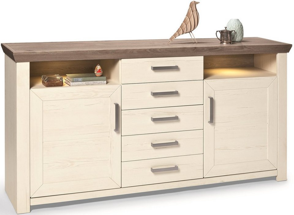 Set one by musterring sideboard york typ 55 pino for Set one musterring