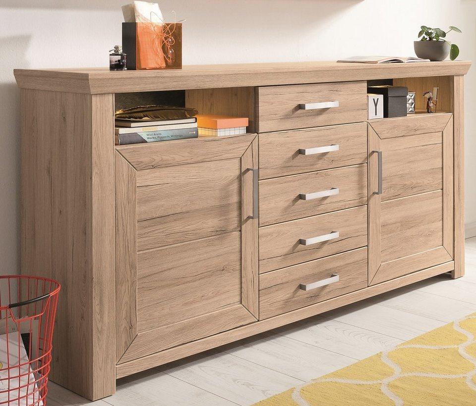 set one by musterring sideboard york typ 55 san remo sand breite 185 cm online kaufen otto. Black Bedroom Furniture Sets. Home Design Ideas