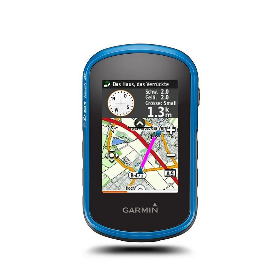 Garmin Outdoor-Navigationsgerät »eTrex Touch 25 inkl. TopoActive Europa« in Schwarz-Blau