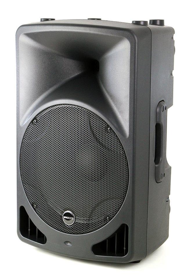 Invotone Aktiver Lautsprecher »EVO15A« in schwarz