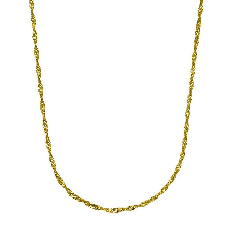 Fascination by Ellen K. Collierkette »375/- Gelbgold 43cm« in gelb