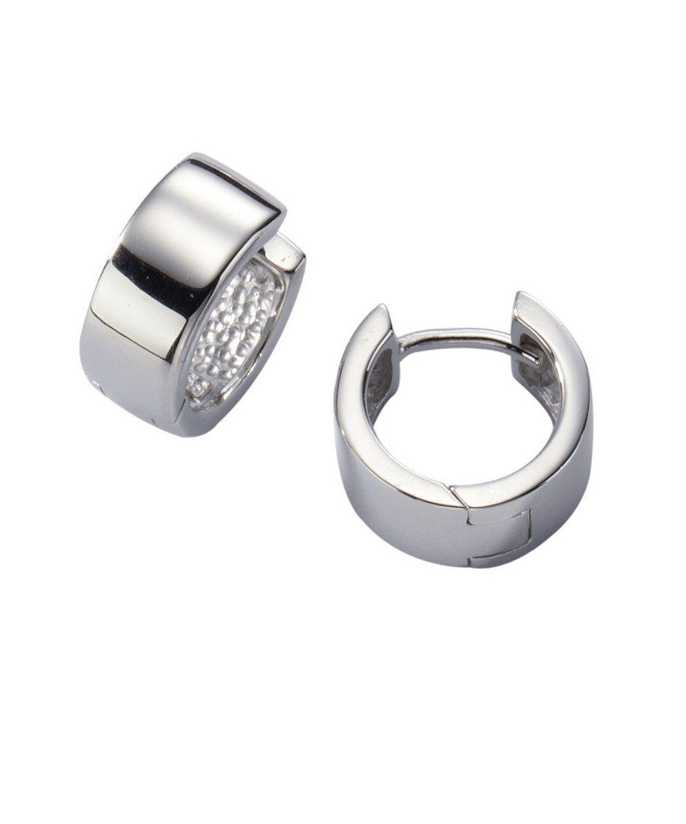 Zeeme Creolen »925/- Sterling Silber hochglanzpoliert«