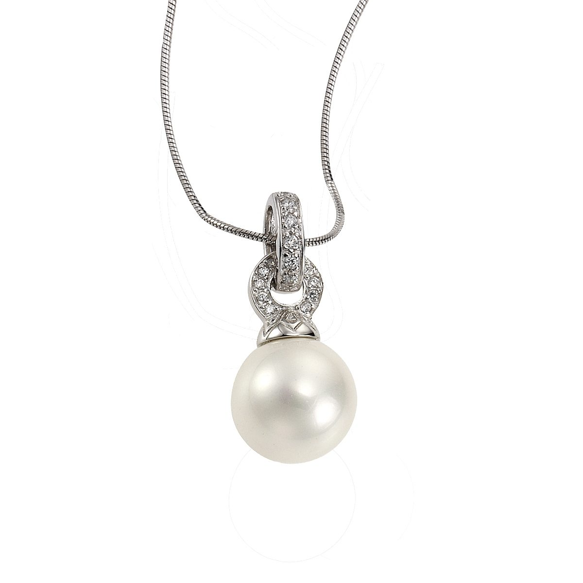 Zeeme Anhänger mit Kette »925/- Sterling Silber Perle«