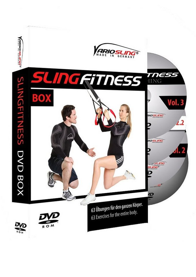 Variosling DVD Set, »Slingfitness Vol. 1 - 3«