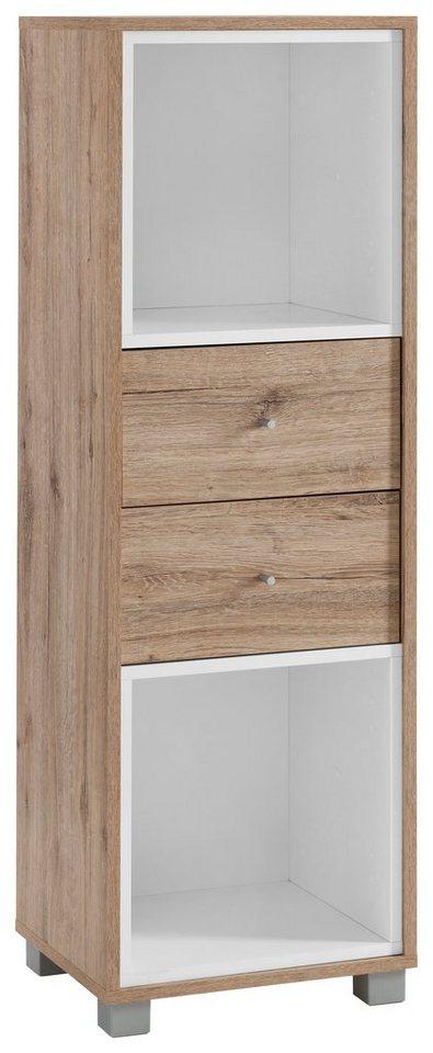 Schildmeyer Büroschrank »Korpio«, Breite 39, 5 cm in wildeichefb.-weiß