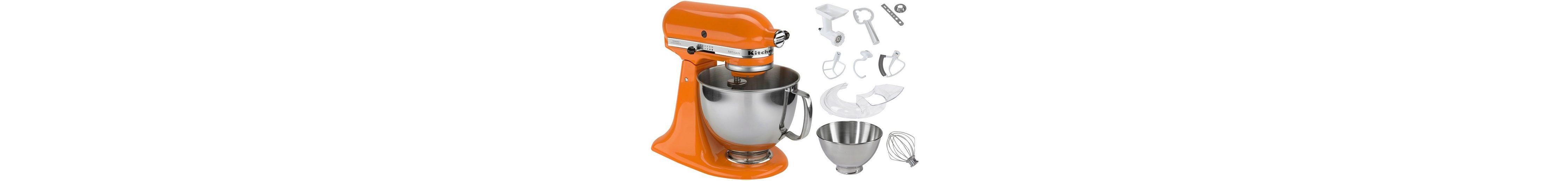 KitchenAid® Küchenmaschine 5KSM150PSETG »Artisan«, inkl. Sonderzubehör im Wert von ca. 214,-€