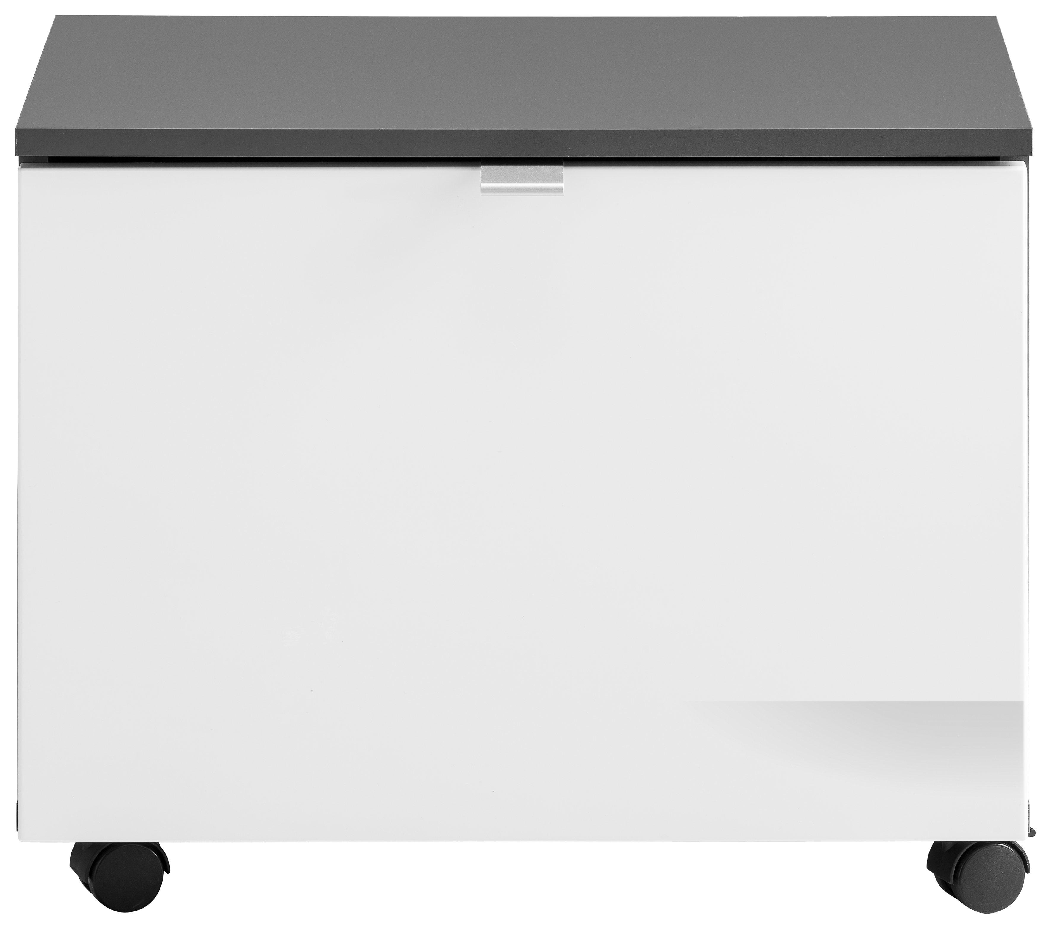 trendteam Sitzcontainer »Beach« | Büro > Büroschränke > Container | Grau - Weiß | Melamin | trendteam