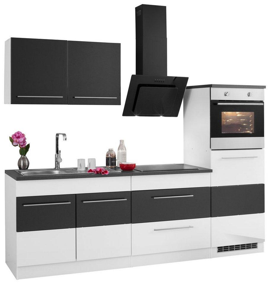 emejing k chenzeile 240 cm mit ger ten images. Black Bedroom Furniture Sets. Home Design Ideas