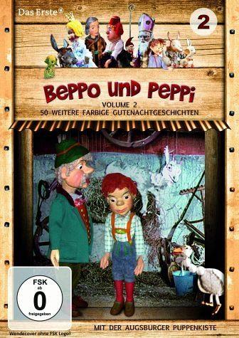DVD »Augsburger Puppenkiste - Beppo und Peppi, Vol....«