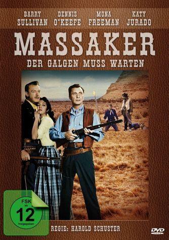 DVD »Massaker - Der Galgen muss warten«
