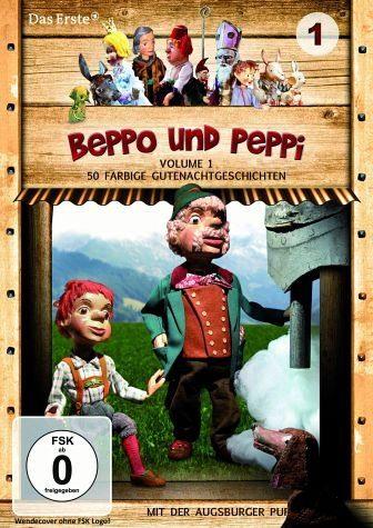 DVD »Augsburger Puppenkiste - Beppo und Peppi,...«