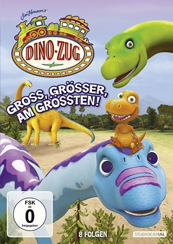 DVD »Dino-Zug - Groß, größer, am größten!«