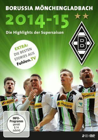DVD »Borussia Mönchengladbach - Die Highlights der...«