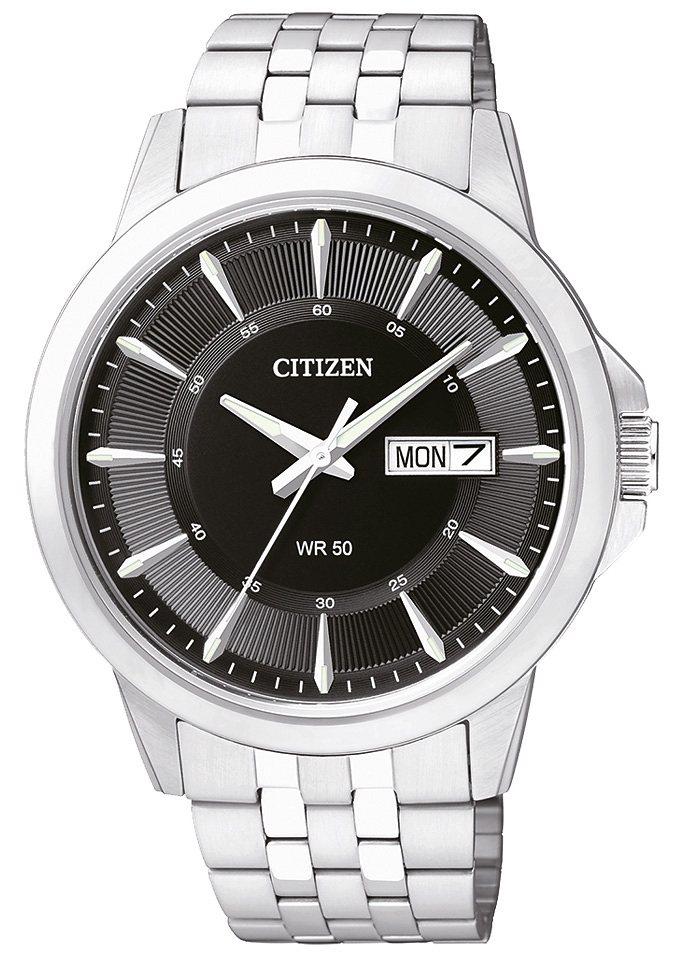 """Citizen, Armbanduhr, """"BF2011-51EE"""" in silberfarben-schwarz"""