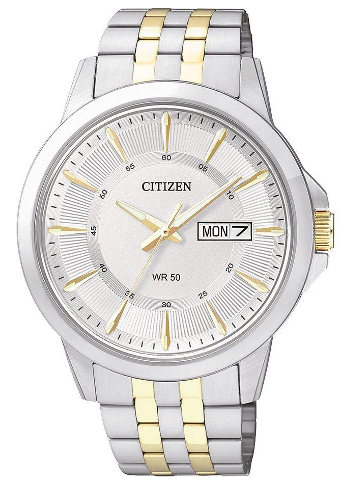 "Citizen, Armbanduhr, ""BF2018-52AE"" in silber-/goldfarben"