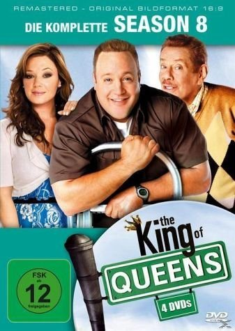 DVD »King of Queens - Staffel 8 DVD-Box«