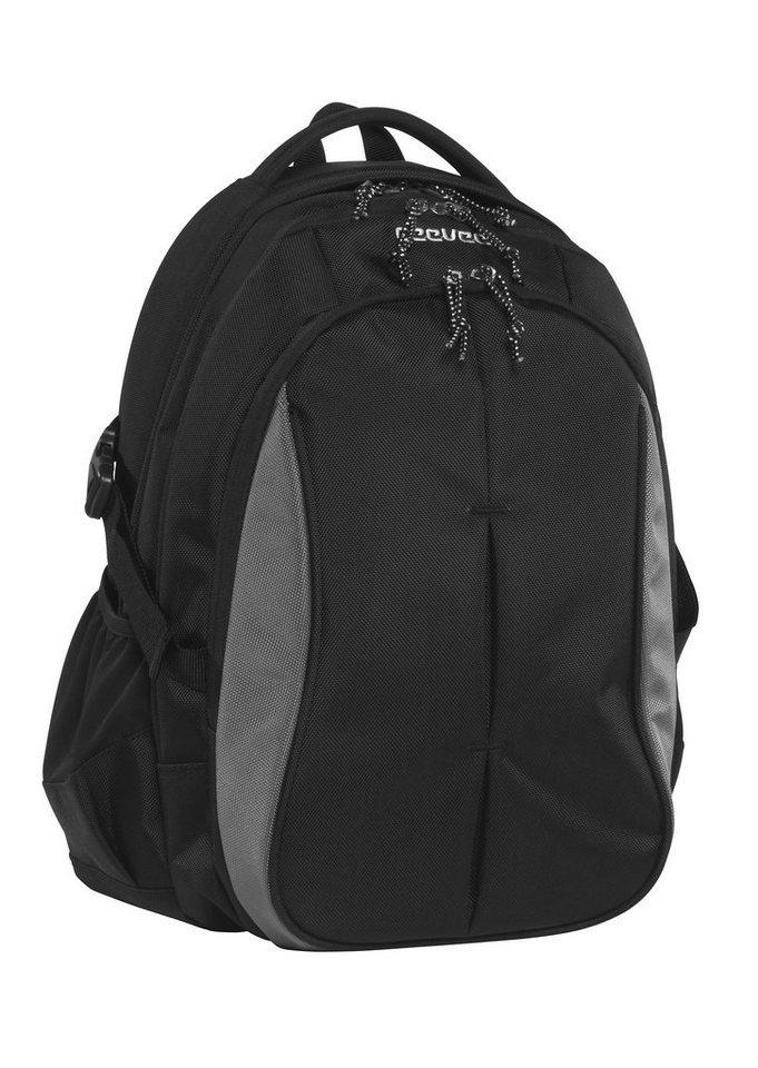 ceevee® Business Rucksack mit Laptopfach 15-Zoll, »Seattle, schwarz« in schwarz