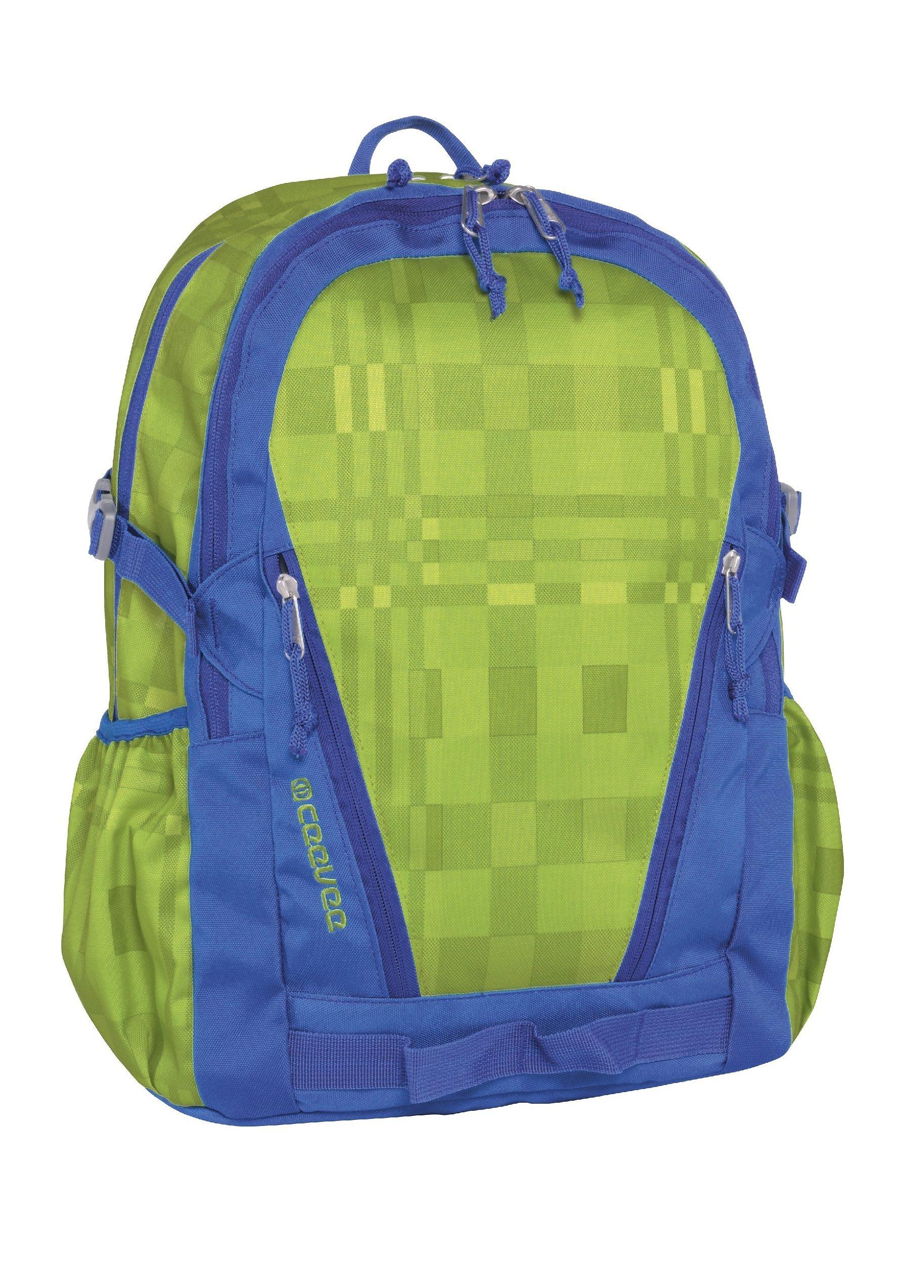 ceevee® Rucksack, »Oxford, grün/blau«