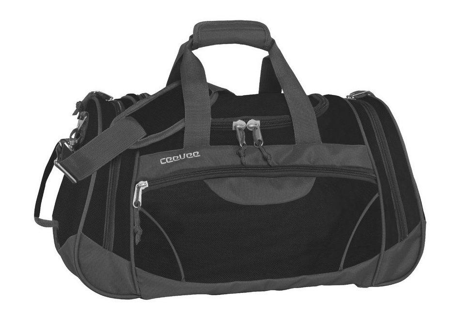 ceevee® Freizeit- und Reisetasche, »Columbia, schwarz« in schwarz